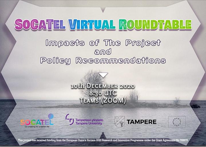 SoCaTel Virtual Rountable 2020